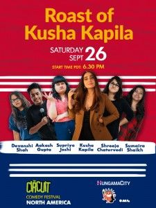 Roast of Kusha Kapila: by Devanshi, Aakash, Supriya, Shreeja and Sumaira