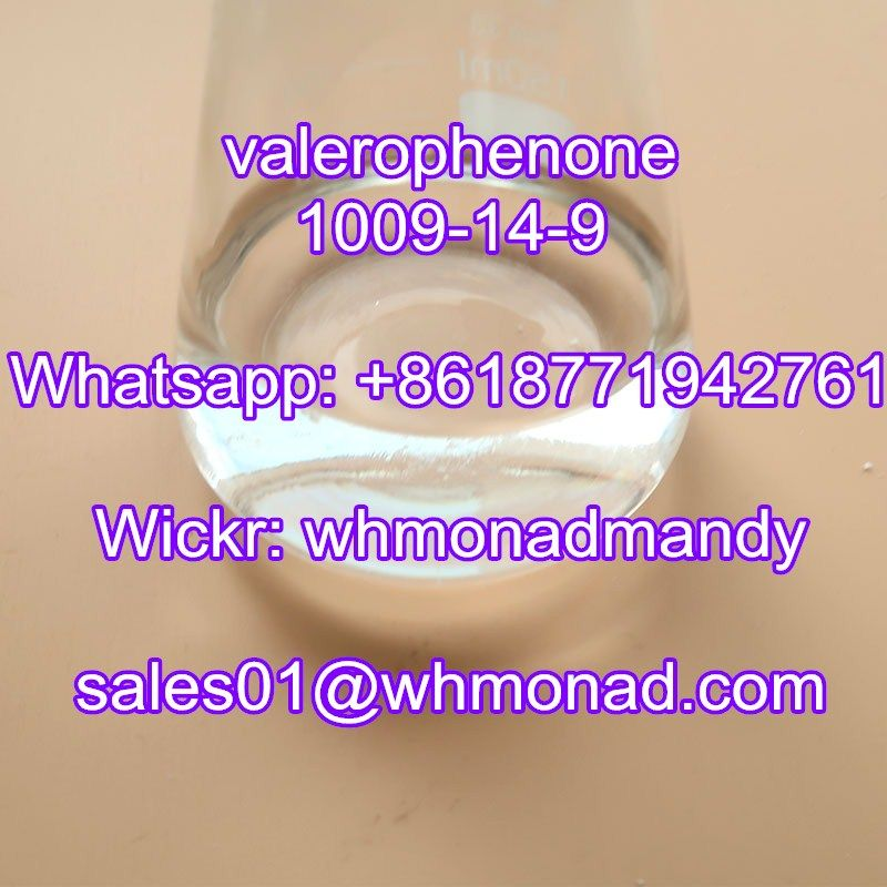 High Purity CAS No. 1009-14-9 Valerophenone Factory Direct Supply