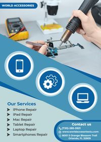 Smart devices repairing services